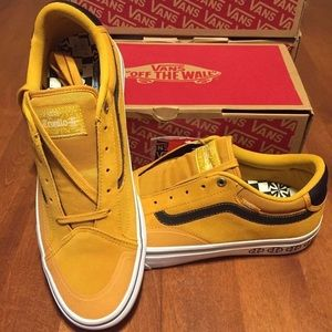 Vans TNT Prototype Sunflower men's 5.5 NWB